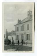 CPA  02 : BONCOURT  Mairie Et Monument  A  VOIR   !!!! - Frankreich