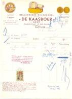 Factuur Facture - Kaas , De Kaasboer - Onderstraat Gent 1955 - Alimentaire