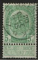 56  Obl Relais  Haesdonck  + 15 - 1893-1907 Coat Of Arms