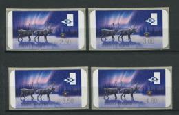 255 FINLANDE 2000/02 - Yvert 29 Distributeur Adhesif - Renne Neige - Neuf ** (MNH) Sans Trace De Charniere - Ungebraucht