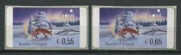 255 FINLANDE 2002 - Yvert 33a Distributeur Adhesif - Renard Neige - Neuf ** (MNH) Sans Trace De Charniere - Finland