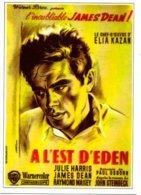 Réf. 331/ 1 CPM - A L'Est De L'Eden - Elia Kazan - James Dean - Julie Harris - Affiches Sur Carte