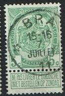 83  Obl Relais  Bra  + 25 - 1893-1907 Coat Of Arms