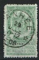 56  Obl Relais  Anhée  + 6 - 1893-1907 Coat Of Arms