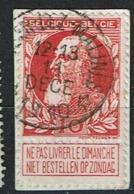 74  Obl Relais  Muysen-Lez-Malines (T2L)  + 50 - 1905 Thick Beard