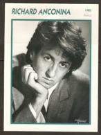 PORTRAIT DE STAR 1985 FRANCE - ACTEUR RICHARD ANCONINA - ACTOR CINEMA FILM PHOTO HARCOURT - Fotos