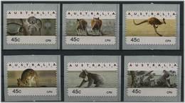 AUSTRALIEN 1994 ATM Nr 40-45 Postfr CPH (46051) - ATM - Frama (Verschlussmarken)