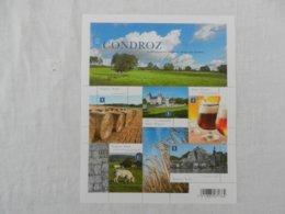 Planche De Timbres Neufs - Belgique - Le Condroz - La Belgique Des Régions - 2012 - Panes