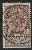 55  Obl Relais  Groot-Bijgaarden/Grand-Bigard - 1893-1907 Coat Of Arms
