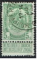 83  Obl Relais  Houppertingen  30 - 1893-1907 Coat Of Arms