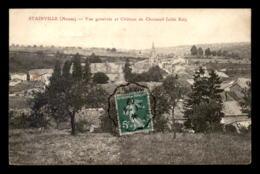 55 - STAINVILLE - VUE GENERALE ET CHATEAU DE CHOISEUIL - EDITEUR ILLISIBLE - Autres Communes