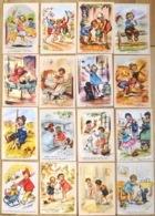 Lot De 16 CPM De Germaine BOURET (reproductions) Voir Scan Du Verso - Bouret, Germaine