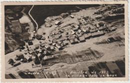 (PPD)HAUTES ALPES , CEILLAC , Sinistre Du 13 Juin 1957 , Du Village Sous La Boue , Vue Aérienne (photo) 13cm X 8 Cm - Andere Gemeenten