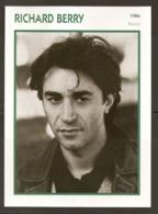 PORTRAIT DE STAR 1986 FRANCE - ACTEUR RICHARD BERRY - ACTOR CINEMA FILM PHOTO - Fotos