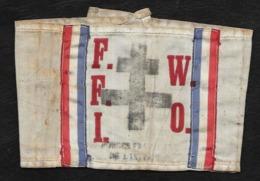 BRASSARD F.F.I. (FORCE FRANCAISE DE L'INTERIEUR)- F.F.I.W.O. - 1939-45