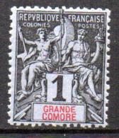 Col17  Colonie Grande Comore N° 1 Neuf X MH Cote  1,60€ - Neufs