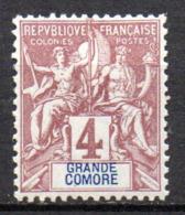 Col17  Colonie Grande Comore N° 3 Neuf X MH Cote  2,70€ - Neufs