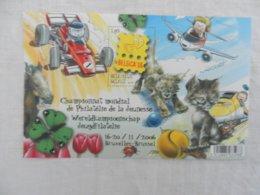 Planche Timbre Neuf - Belgique - Belgica'06 - Championnat Mondial Philatélie De La Jeunesse - 16-20/11/2006 - Panes