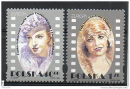 POLOGNE N° 3371/72 ** - EUROPA : Les Femmes Célèbres (1996) - Europa-CEPT