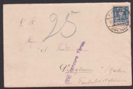 Polska POLEN Brief Zensur Woj. Cenzura Terun Nach Dilligheim Baden - 1919-1939 République