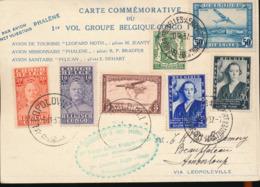 "BELGIAN CONGO MISSIONARY FLIGHT FIRST FLIGHT ""PHALENE"" - Congo Belge"