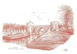 Belgium Le Pont Des Trous Tournai Alain Kolin Bridge River - Sonstige