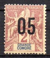 Col17  Colonie Grande Comore N° 20  Neuf X MH  Cot  1,70€ - Grande Comore (1897-1912)