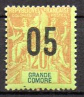 Col17  Colonie Grande Comore N° 23  Neuf X MH  Cot  1,90€ - Grande Comore (1897-1912)