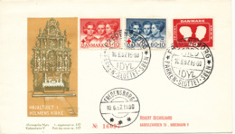 Denmark Cover Royal Wedding Fredensborg 10-6-1967 Also With RED CROSS Stamps - Danimarca