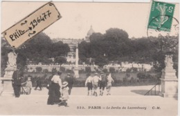 75 Paris - Cpa / Le Jardin Du Luxembourg. Circulé. - Parchi, Giardini
