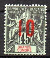 Col17  Colonie Grande Comore N° 27  Neuf X MH  Cot  3,00€ - Grande Comore (1897-1912)