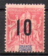 Col17  Colonie Grande Comore N° 28  Neuf X MH  Cot  2,60€ - Grande Comore (1897-1912)