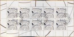 3086 Musiker Und Dirigent Richard Strauss - 10er-Bogen Auf Kartonvorlage, ESST - [7] République Fédérale