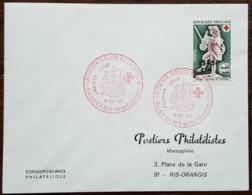 Réunion - FDC 1967 - YT N°379 - CROIX ROUGE - Covers & Documents