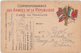 Correspondance Des Armées De La République - Carte En Franchise   ( Exp. 275é. Rgt. Inf. 21é. Cie. 2é Sect. ) - Weltkrieg 1914-18