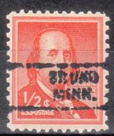 USA Precancel Vorausentwertung Preo, Locals Minnesota, Bruno 729 - Vereinigte Staaten