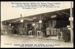 71 MACON école Des Metiers De Macon  CP 13) - Macon