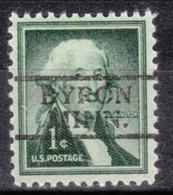 USA Precancel Vorausentwertung Preo, Locals Minnesota, Byron 728 - Vereinigte Staaten