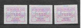 België  ATM N° 89 - Vignettes D'affranchissement