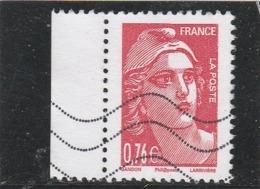 FRANCE 2015 MARIANNE DE GANDON ISSU DU CARNET LIBERATION YT 4992 OBLITERE - Francia