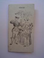 CALENDRIER Ancien : GRAND HOTEL BRADY / PARIS 1918 - Petit Format : 1901-20