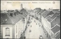 (1739) Malines -  Mechelen - Vue Panoramique De La Rue Haute - 1920 - Malines