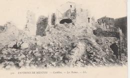 19 / 11 / 248. -   ENV. DE  MENTON    ( 06 )  CASTILLON   LES   RUINES - Menton