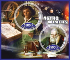 Cosmos Astronomy Nikolai Copernicus Galileo Ensemble De Blocs - Astronomy