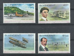 ST.  VINCENT   YVERT   522/25    MNH  ** - St.Vincent (...-1979)