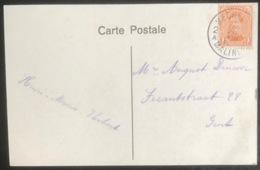 (1740) Cat.135 - 1c - Oranje - Z.M. AlbertI Type I - 15/10/1915 - Catw. € 25,00 - 1915-1920 Albert I