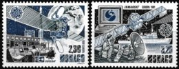 Série De 2 Timbres-poste Gommés Neufs** - Europa L'Europe Et L'espace - N° 1768-1769 (Yvert)  Principauté De Monaco 1991 - Monaco