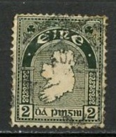 Irlande - Ireland - Irland 1941-44 Y&T N°81 - Michel N°74A (o) - 2p Carte - 1937-1949 Éire