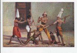 Calcutta. Devil Dancers - Tuck Oilette 7408 - India