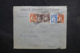 PORTUGAL - Enveloppe Commerciale ( Devant ) De Porto Pour La France , Affranchissement Perforés - L 46704 - Covers & Documents